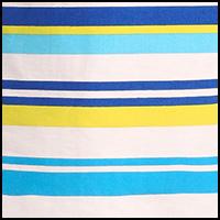 blue yellow stripe