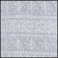 Heather Grey Fairisle