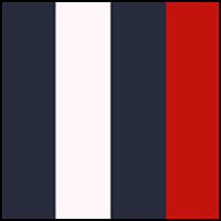 Red, Navy, White, Navy
