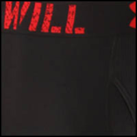 I Will (Black/Red)