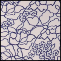 Tranquil Lace Print