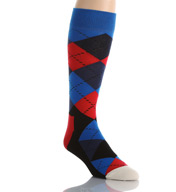 Happy Socks Combed Cotton Argyle Crew Sock AR01-067