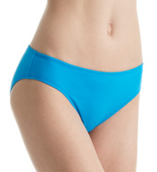 Lauren Ralph Lauren Beach Club Solid Hipster Swim Bottom R6GA93