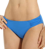 Tommy Bahama Pearl Solids Shirred Hipster Swim Bottom TSW24720B