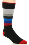 Striped Cotton Dress Socks