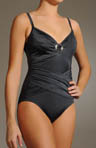 One PIece Swimsuit with Lapped Front