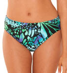 Butterfly High Waisted Brief Swim Bottom