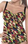 Feathers Underwire Tankini Swim Top