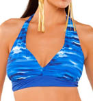 Strobe Shirred Cup Underwire Bikini Swim Top