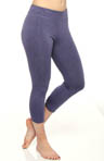 Core Shirred Legging Capri