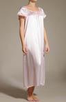Charmeuse Short Sleeve Gown