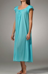 Long Gown with Petal Sleeve