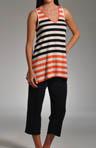Lucky Stripes Pajama Set