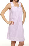 Strawberry Fields Sleeveless Short Nightgown