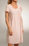 Tea & Crumpets Cap Sleeve Button Front Gown