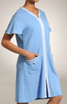 Blue Skies Zip Front Robe
