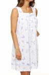 Lavender in June Sleeveless Short Gown