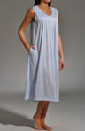 Dream Catcher Sleeveless Printed Soft Jersey Gown