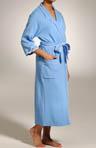 Blue Skies 3/4 Sleeve Wrap Robe