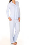 Printed Brushed Interlock Long Sleeve PJ Set