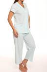 Sunny Days Short Sleeve Capri Pajama Set