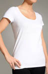 Toning Scoop Neck Tee