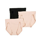 Passion for Comfort High Cut Panties 3 Pack