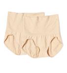 Comfortshape Slimming Band Brief Panty 2-Pack