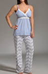 Morning Glory Nursing Cami and Pant Pajama