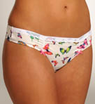 Fly Girl Stretch Cotton Low Rise Thong