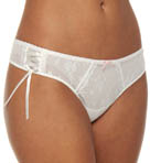 Floral Tulle Thong