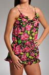 Electric Circus Floral Chiffon Romper