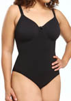 Pinup Plus Size Bodysuit with Underwire