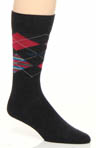 Combed Cotton Argyle Sock