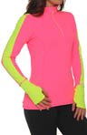 Nightlife Essential 1/2 Zip Long Sleeve Top