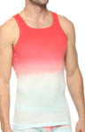 Gradient Square Neck Tank