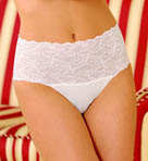 Secrets Wide Stretch Lace Band Brief Panties
