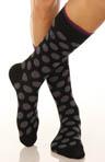 Polka Dot Crew Sock