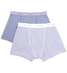 Cotton Stretch Trunks - 2 Pack