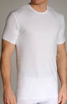 Cotton Stretch Crewneck T-Shirts - 2 Pack