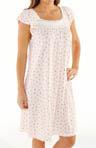 Rosebud Stripe Short Gown