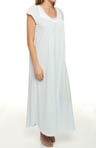 Cherished Rosettes Soft Jersey Long Gown