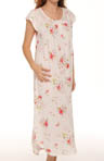 Roseberry Amaryllis Long Cap Sleeve Gown