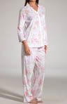 Bourbon Rose Blossoms 3/4 Sleeve Pajama