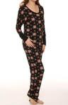 Festive Ikat Bouquet Pajama