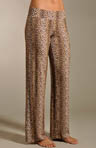 Anouck Leopard Pull On Pants