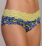 Ever Printed Daisy Low Rise Hotpants