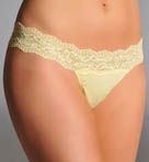 Ever Cotton Blend Low Rise Thong