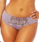 Colette Embroidered Micro Hipster Boyshort Panty