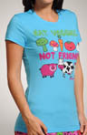 Eat Veggies Not Friends Tee